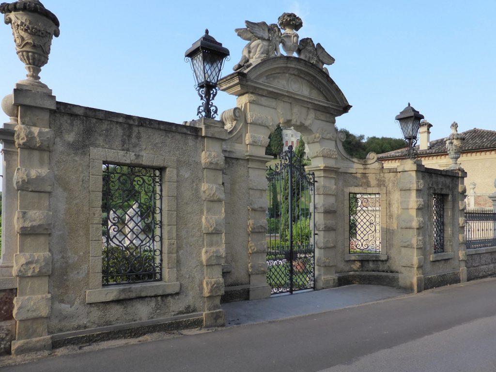 ingresso giardino Villa De Mattia - Asolo