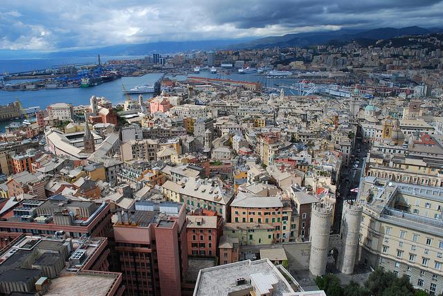 Guida di Genova, ventosa e multiforme