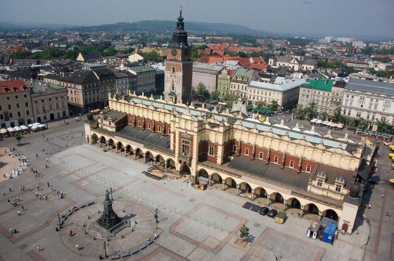 Guida di di Cracovia, insospettabilmente allegra