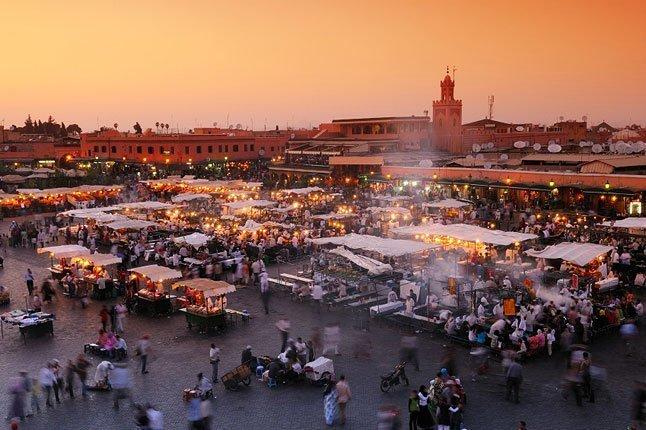 Guida a Marrakesh, mediorientale chic