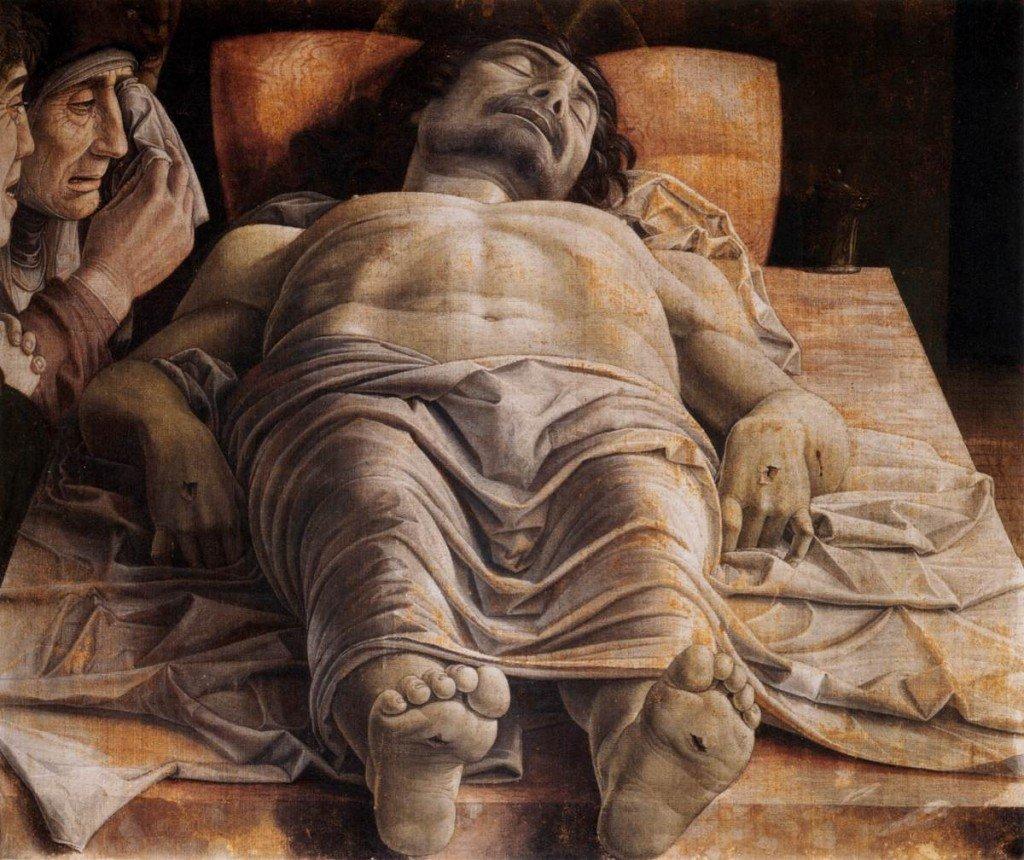 Il Cristo Morto di Andrea Mantegna