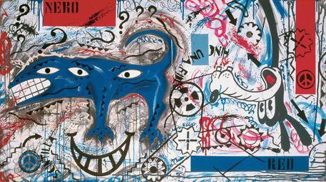 Mostre: Pablo Echaurren, la contropittura in 200 opere