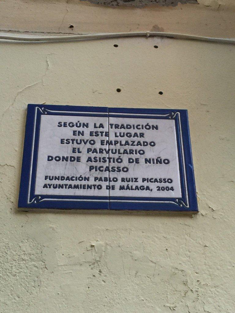 Picasso a Malaga