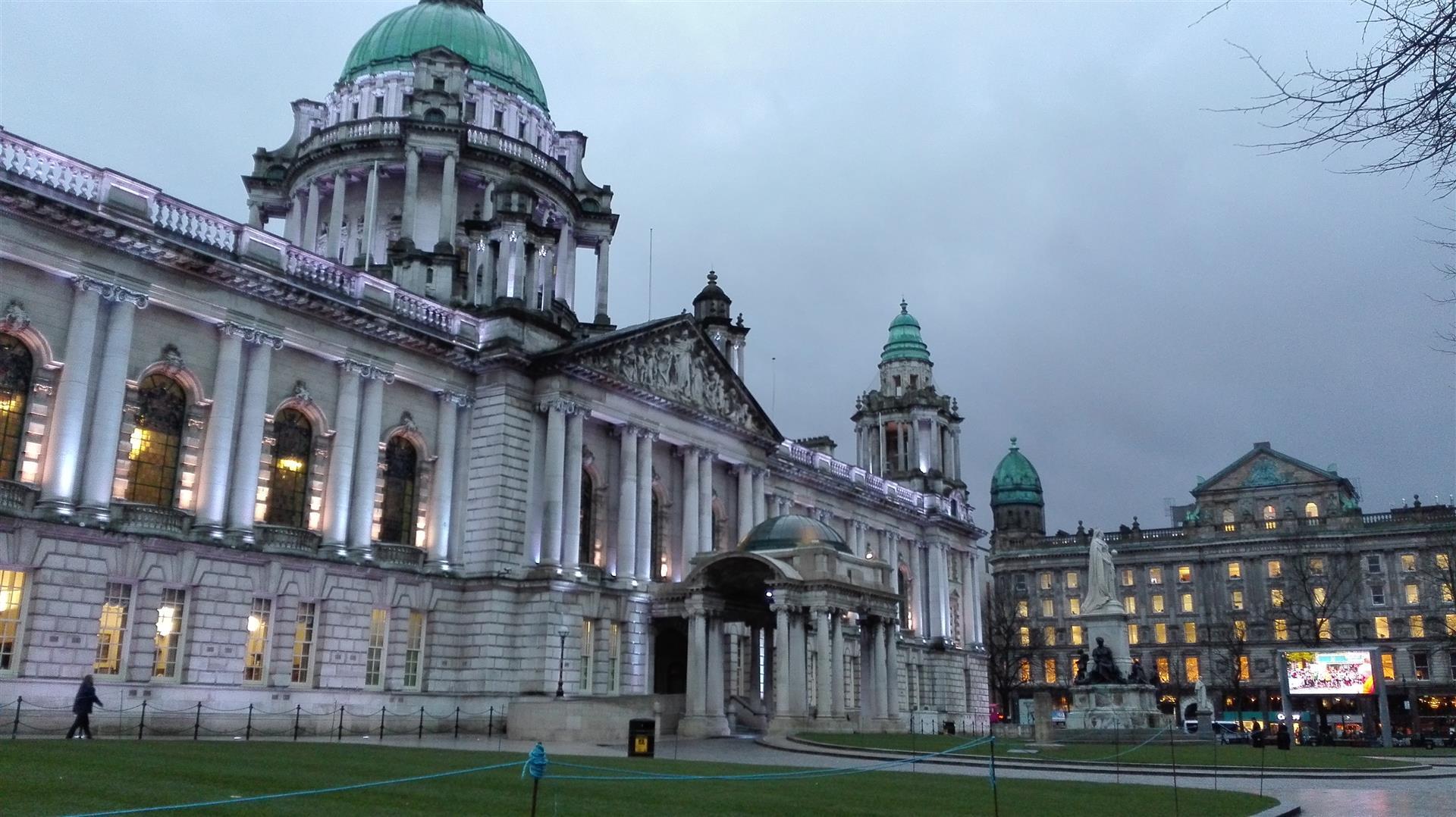 Da sola in Irlanda: Belfast