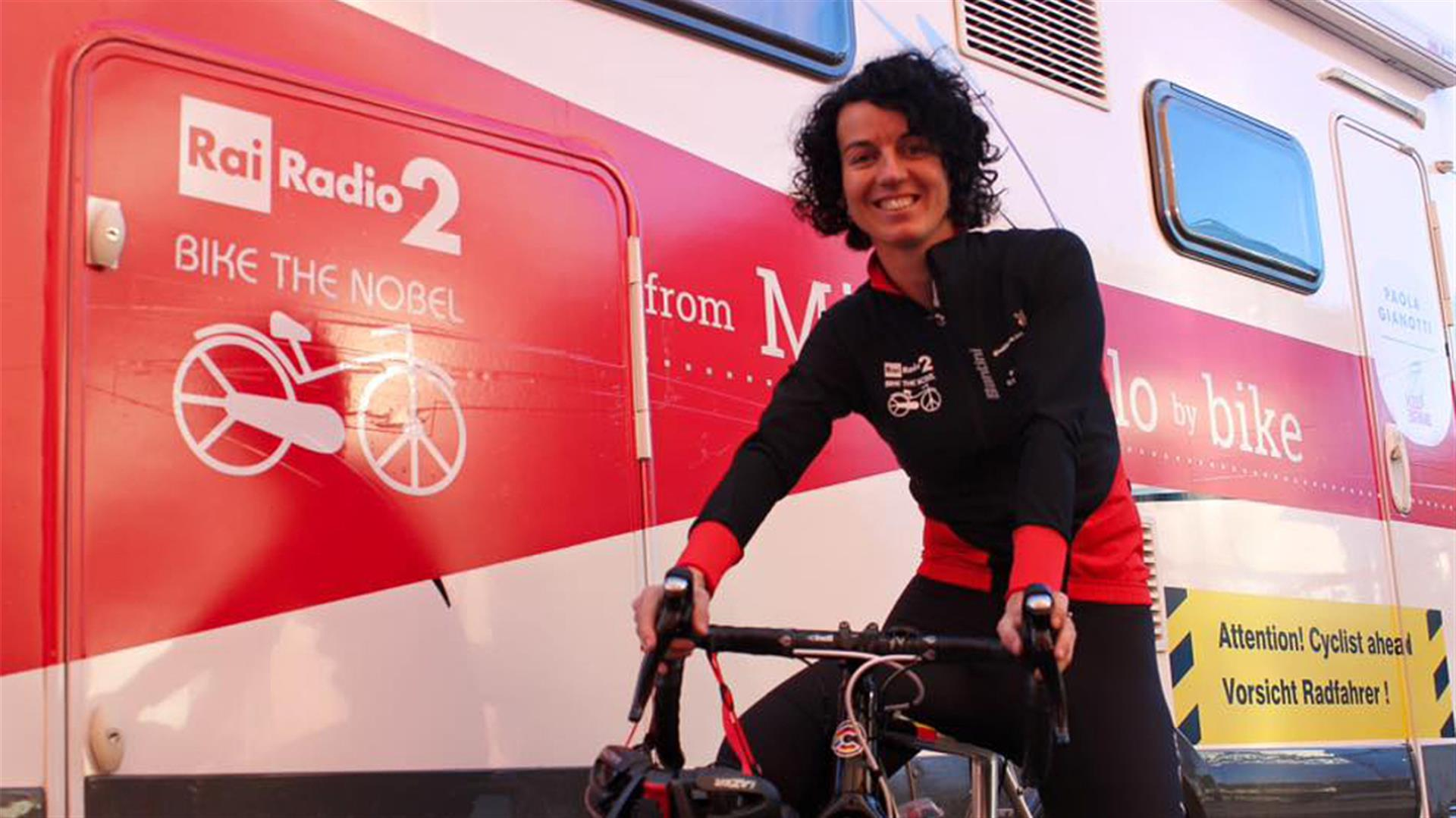 'Bike the Nobel' per le donne afghane