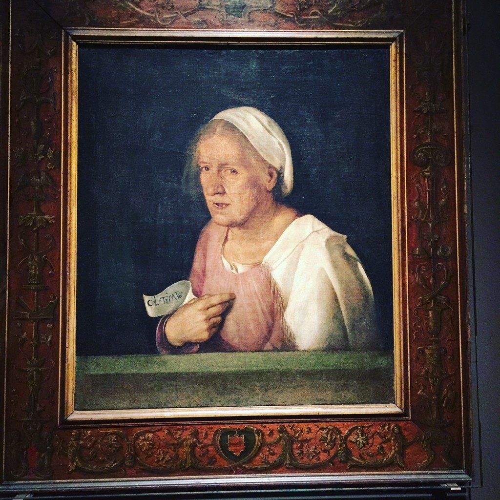La Vecchia, di Giorgione