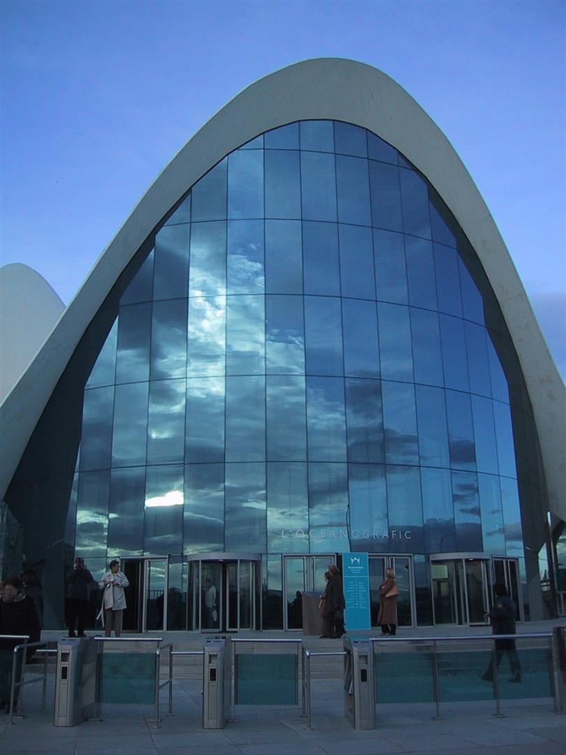 Valencia, paella, luce e un signore chiamato Calatrava
