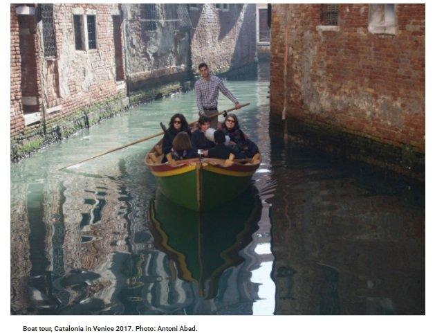 Alla Biennale la Venezia dei non vedenti
