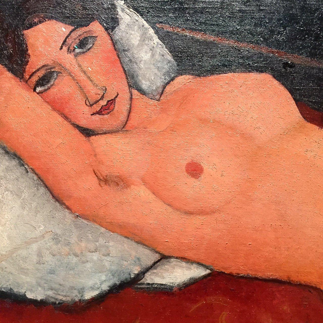Modigliani, l'indecente