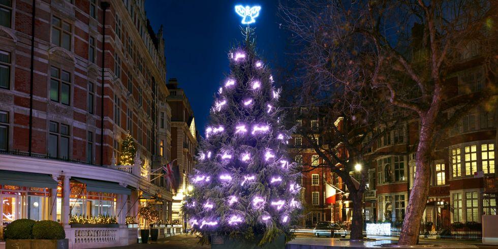 Londra, l'albero di Natale è d'autore e di design