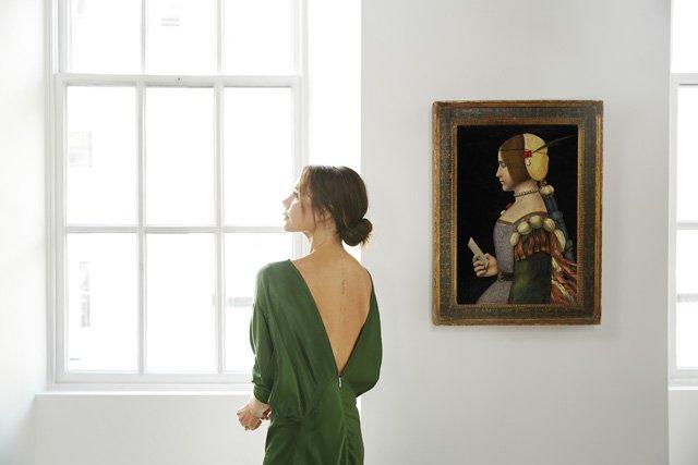 L'arte a casa Beckham