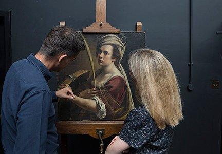 Letizia Treves Artemisia Gentileschi