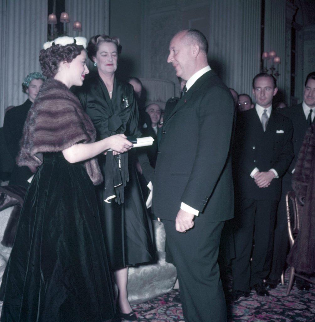 La principessa Margaret con Christian Dior