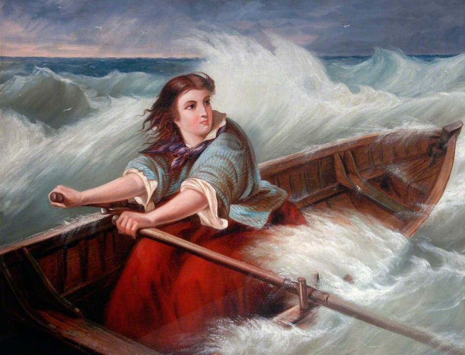 Cresce il numero delle donne alla scialuppa