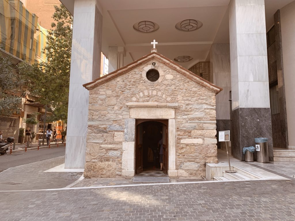 chiesa bizantina, Atene