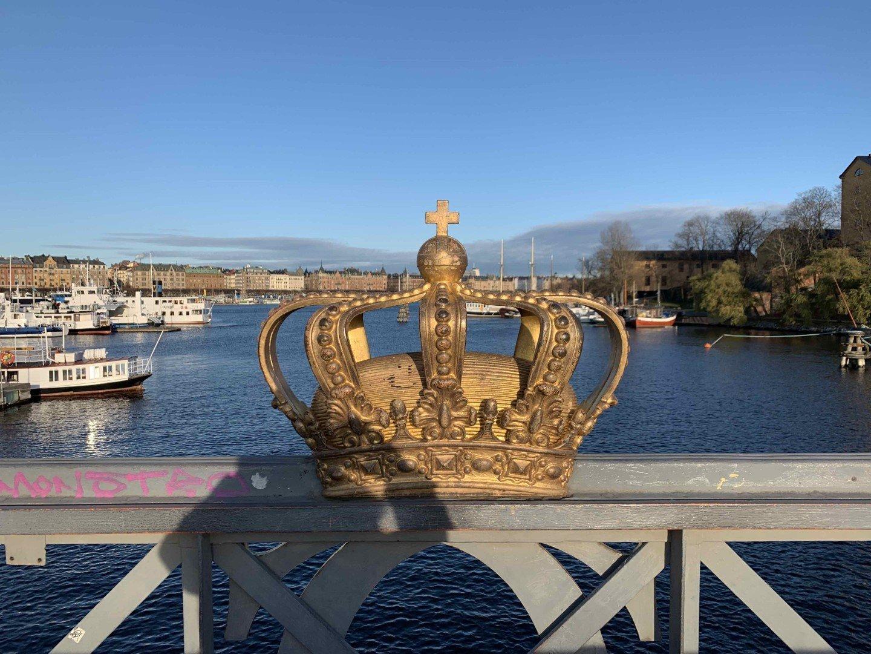 Stoccolma, in inverno