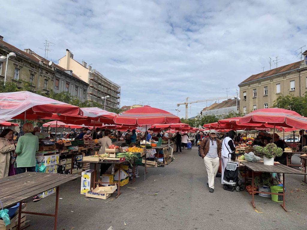 Mercato Dolac, Zagabria