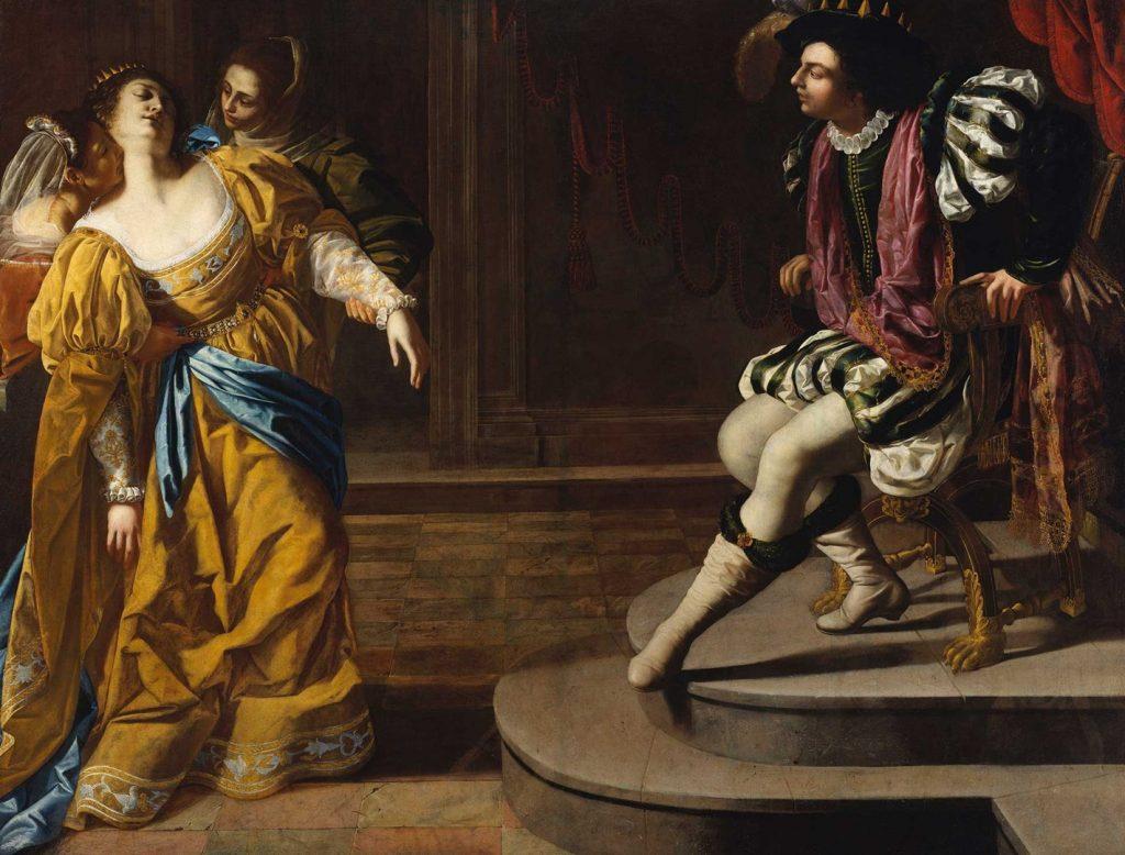 'Esther before Ahasuereus', about 1628-30. The Metropolitan Museum of Art, New York.