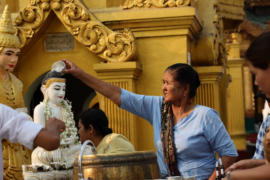 lavaggio buddha