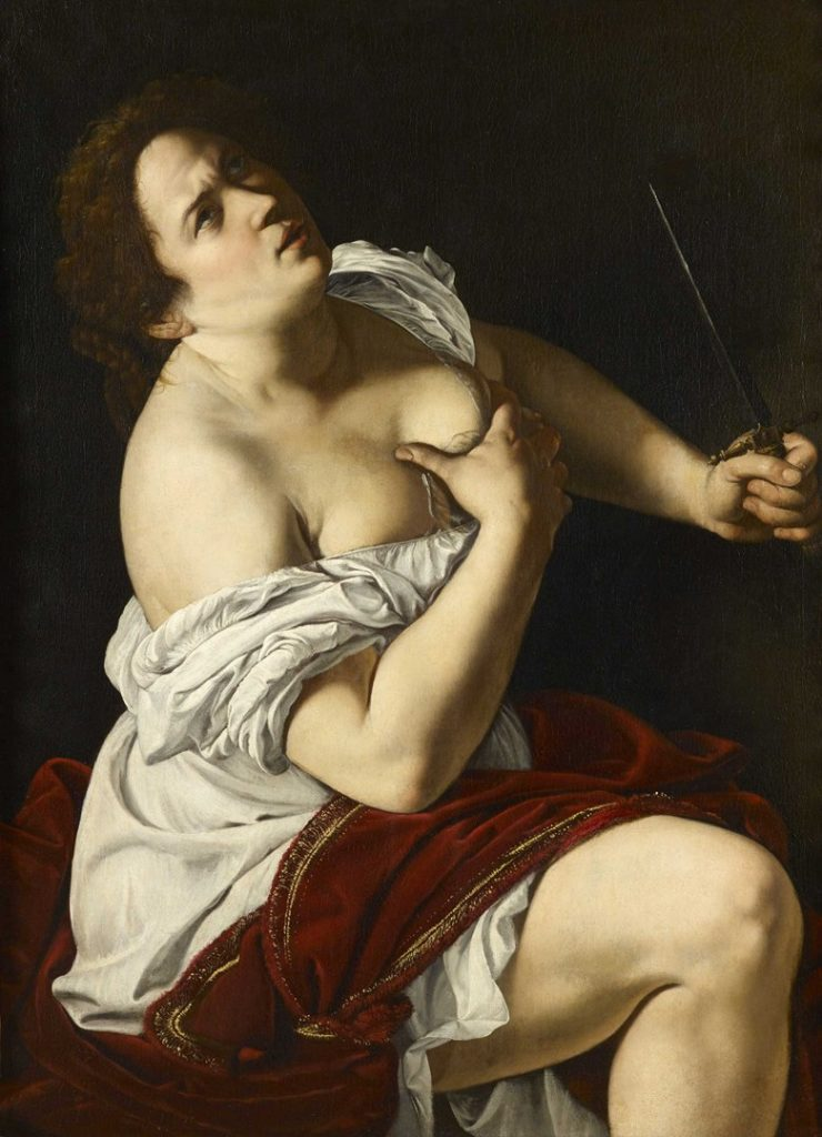 Artemisia Gentileschi, 'Lucretia', about 1623-5. Etro Collection