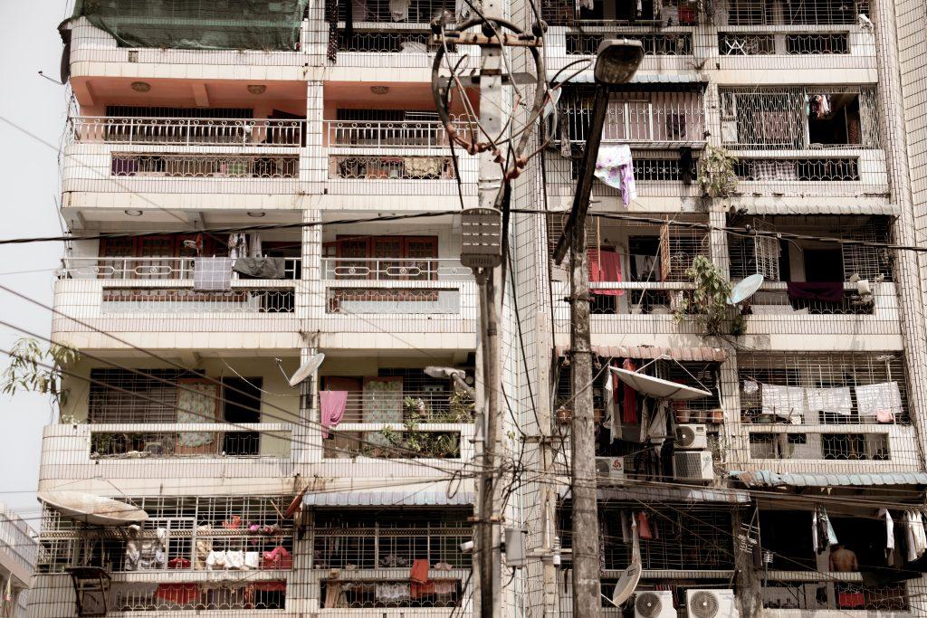 Yangon, buildings