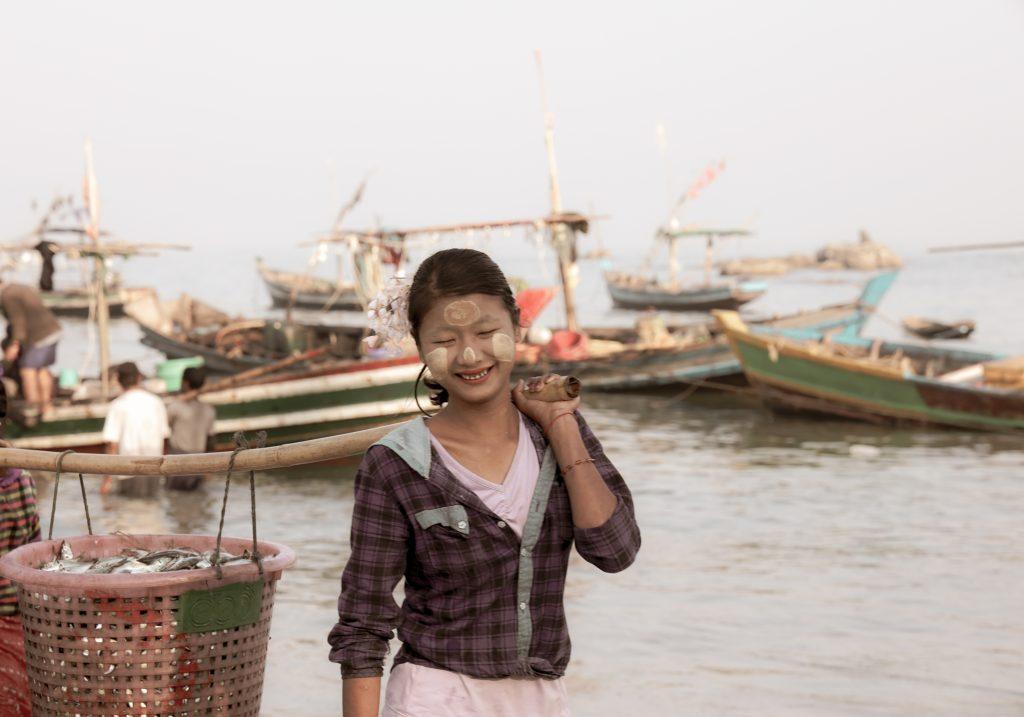 pesca a Ngapali, Myanmar