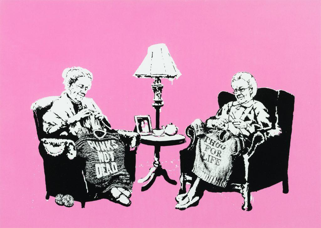Grannies 2006, Bansky