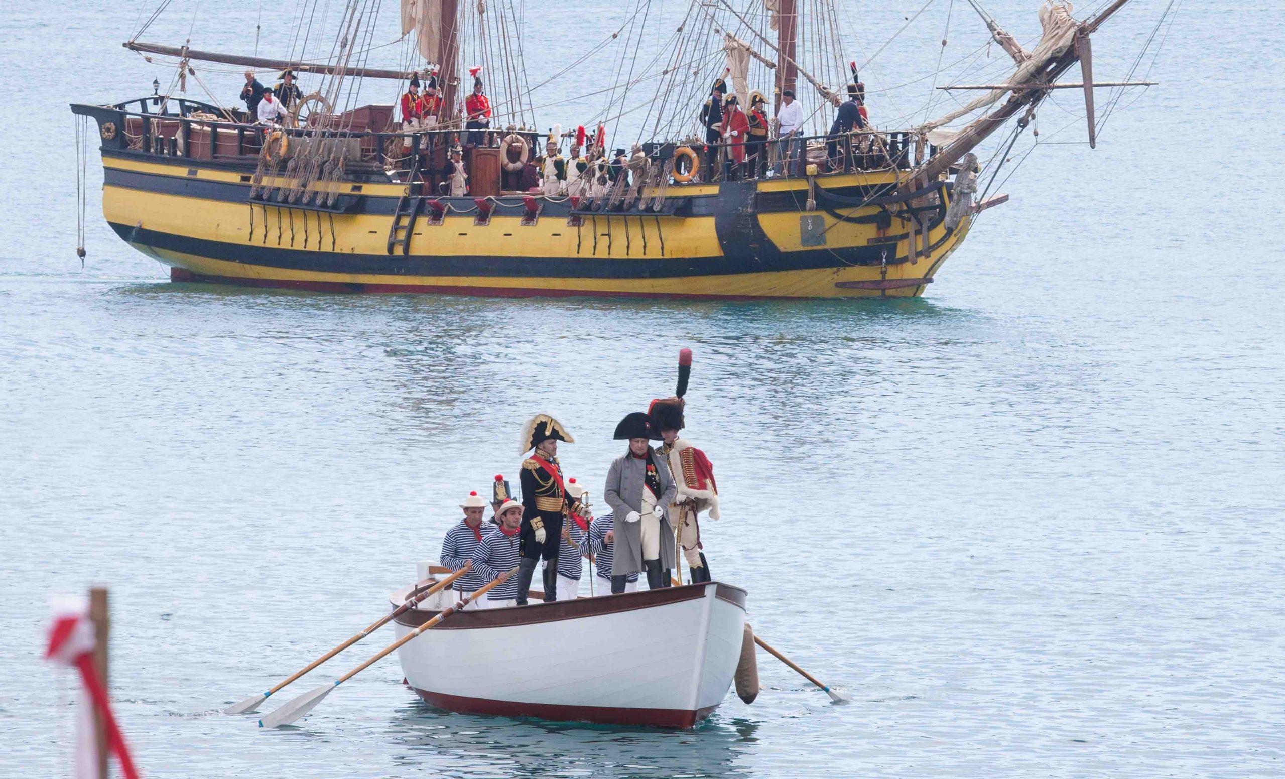 Sbarco di Napoleone all'Elba