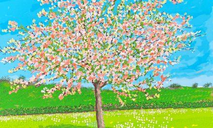 David Hockney e la primavera in Normandia